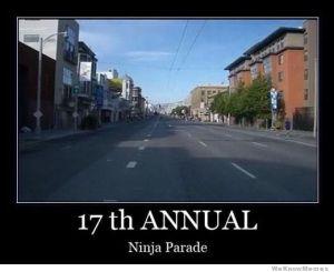 ninja-parade
